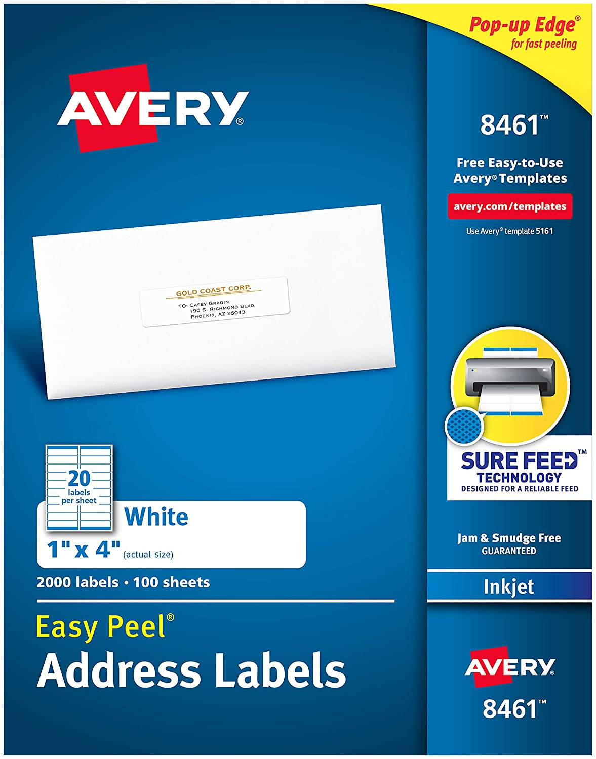 Avery Address Labels Template