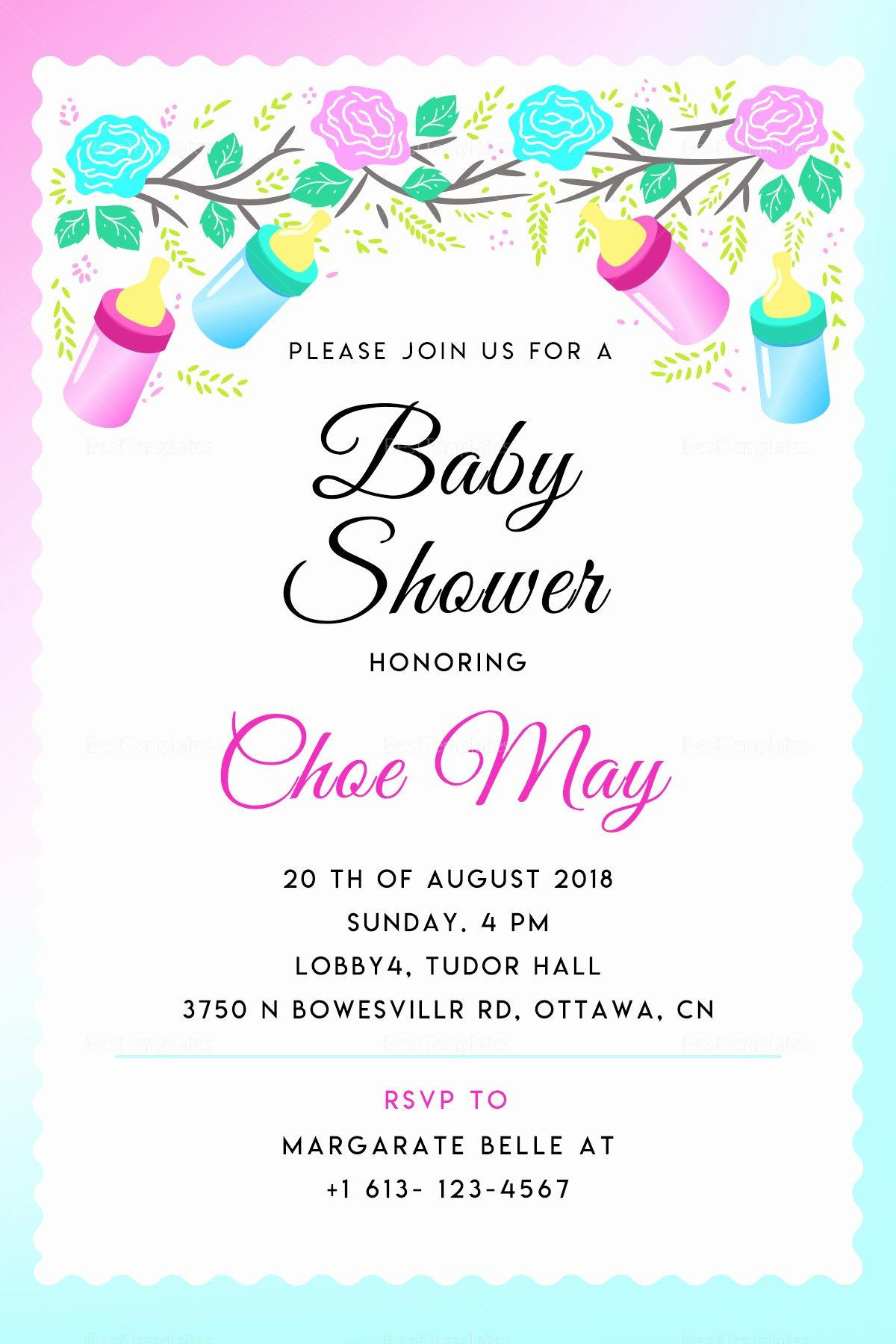 35 Baby Shower Invitation Template shop