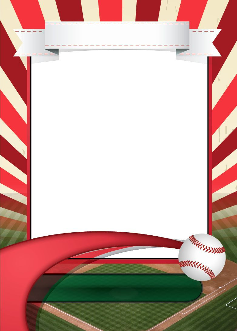 Baseball Card Template Photoshop