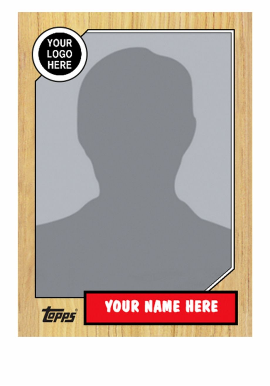 Baseball Card Template Resume Free Gecce Tackletarts Topps