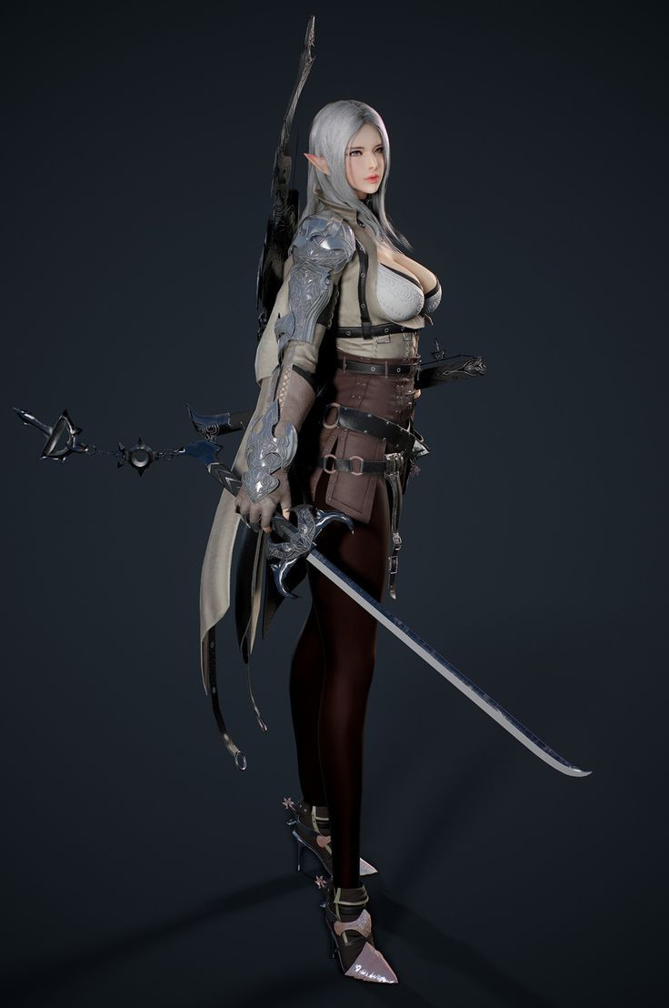 Black Desert Warrior Template