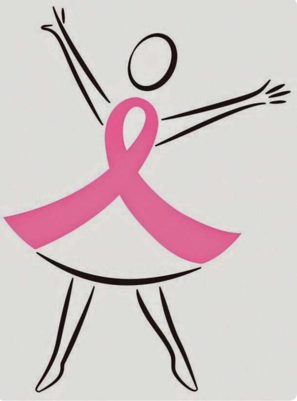 Breast Cancer Ribbon Template