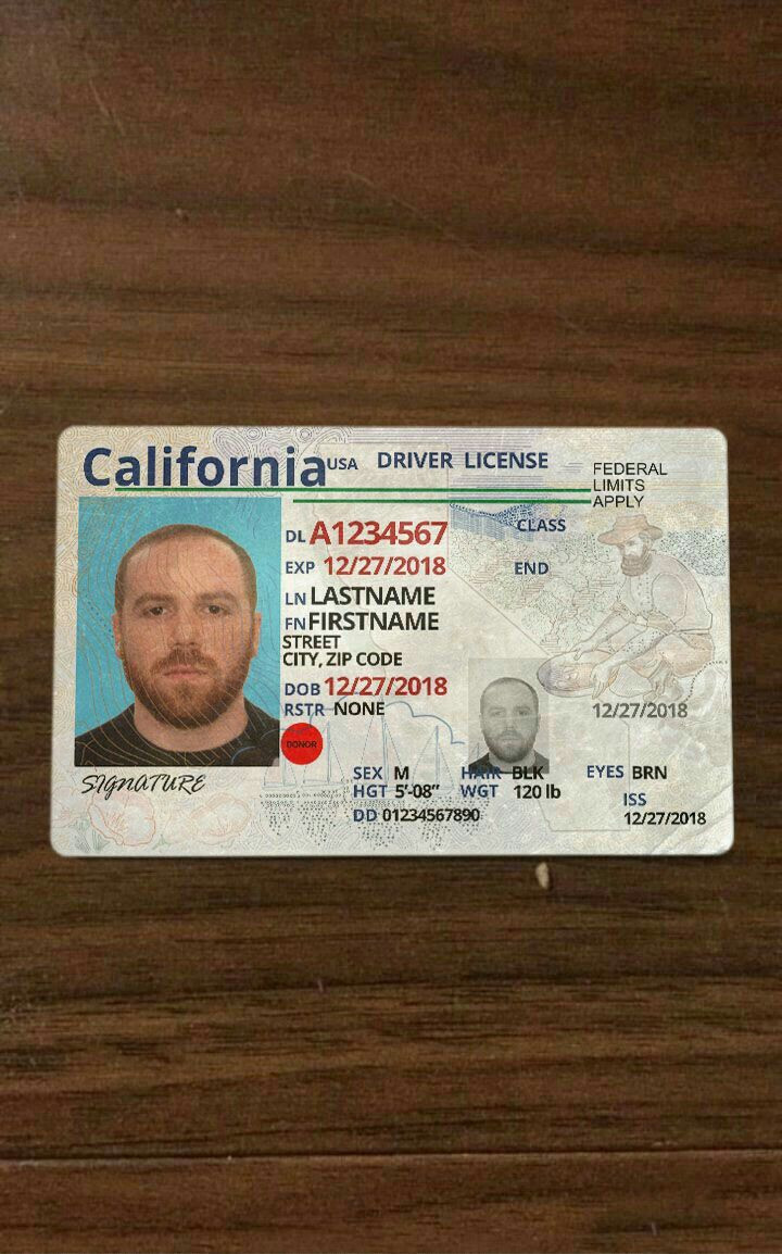 Pin by Ricekilla on Drivers license california