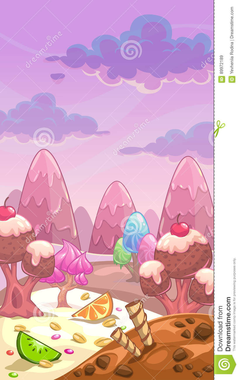 Candyland Board Game Template