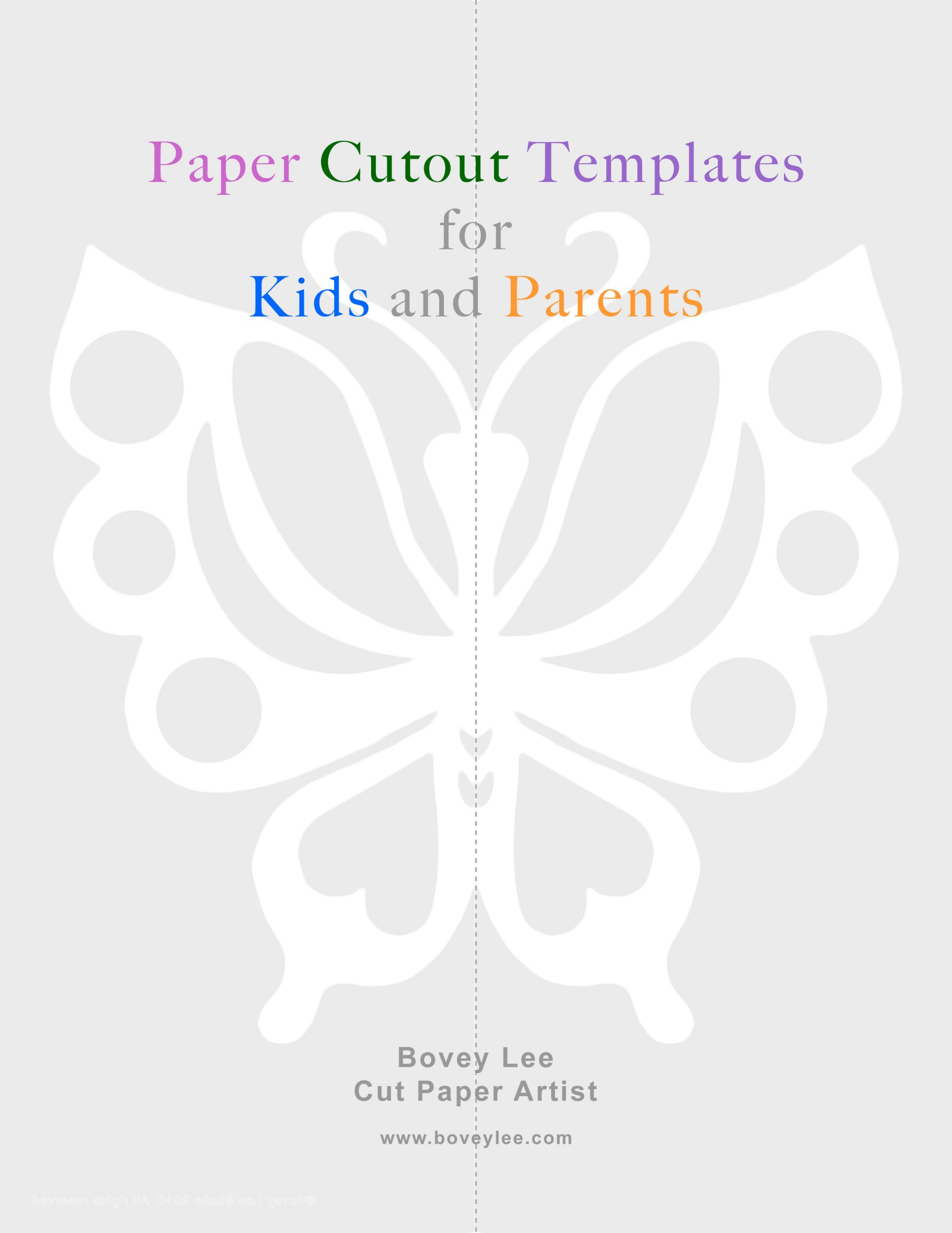 Chinese Paper Cutting Template