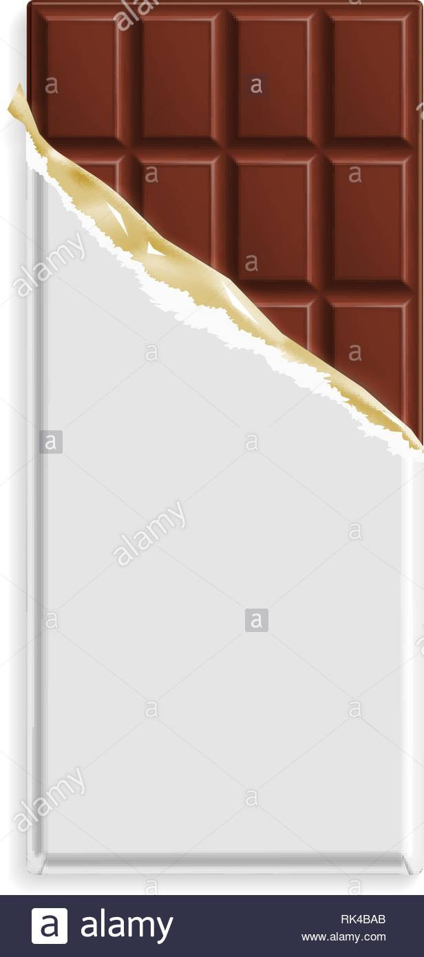 Chocolate Bar Wrapper Template