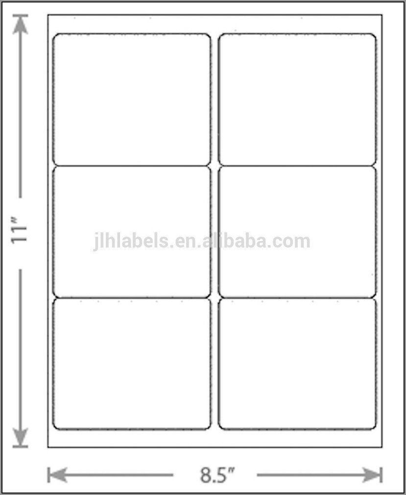 Christmas Address Labels Template