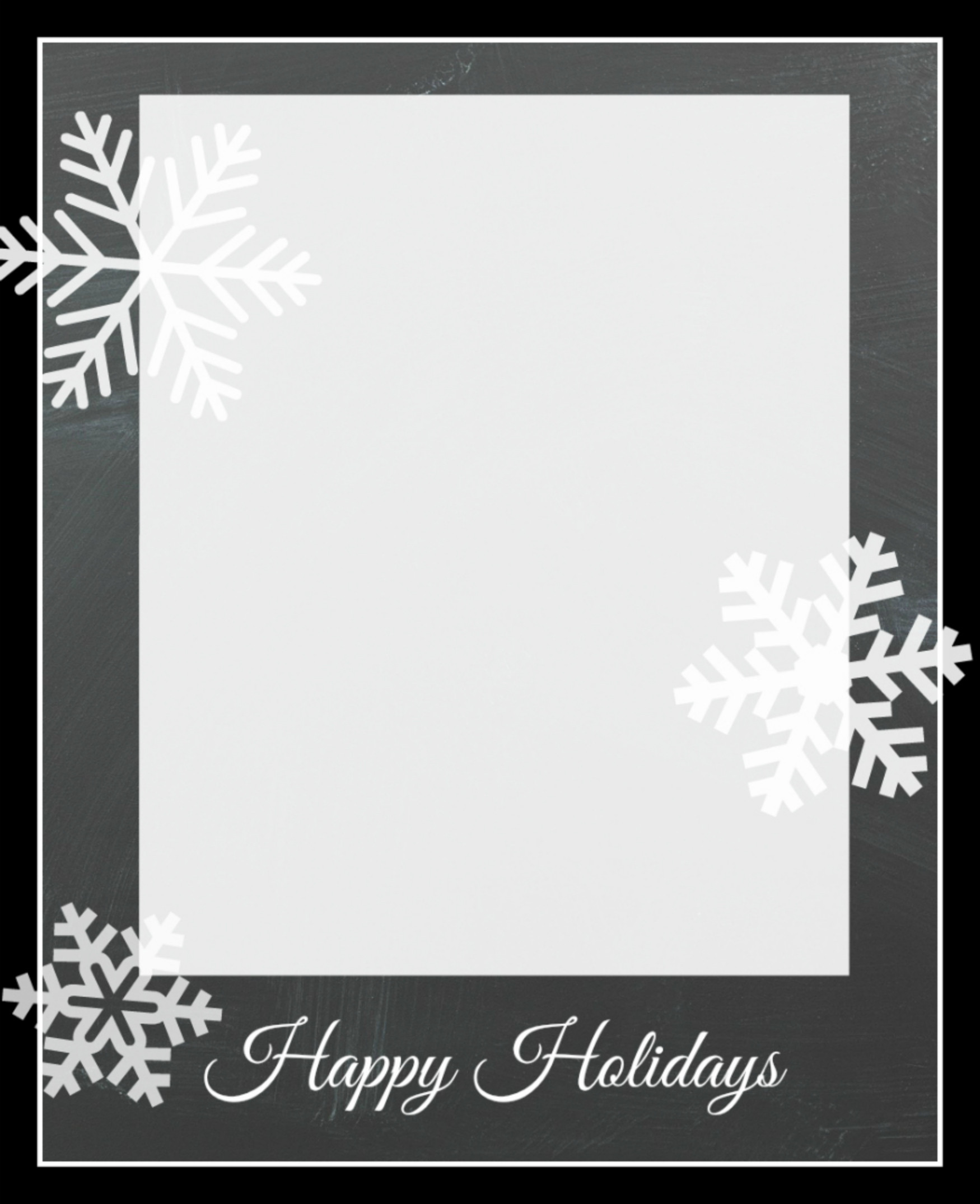Christmas Card Template Photoshop