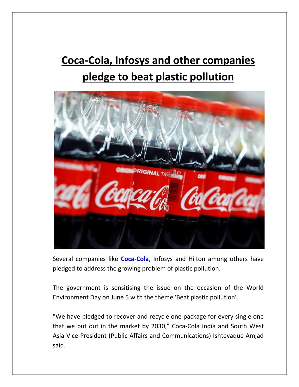 Coca Cola Powerpoint Template