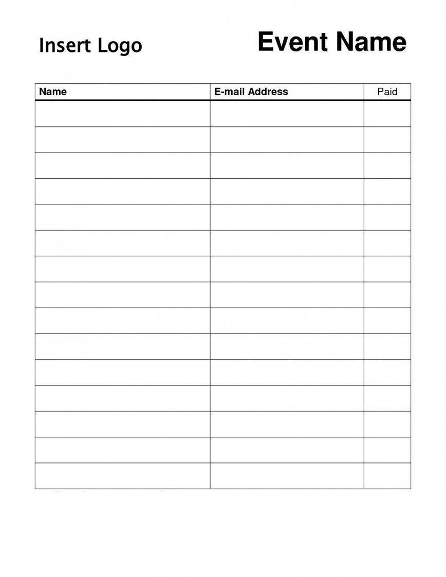 Email Sign Up Template