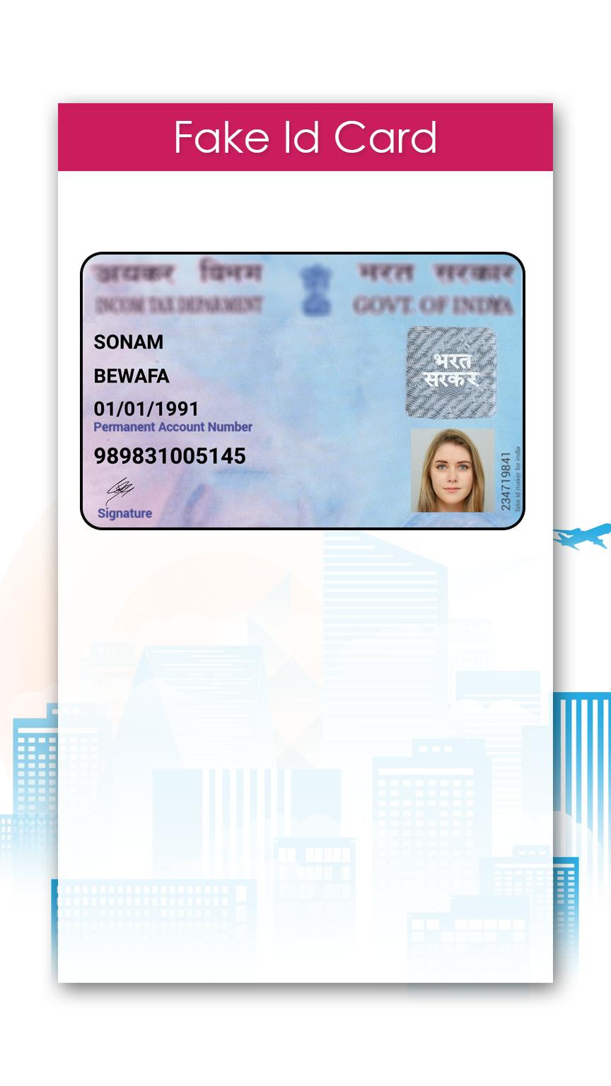 Fake Drivers License Template