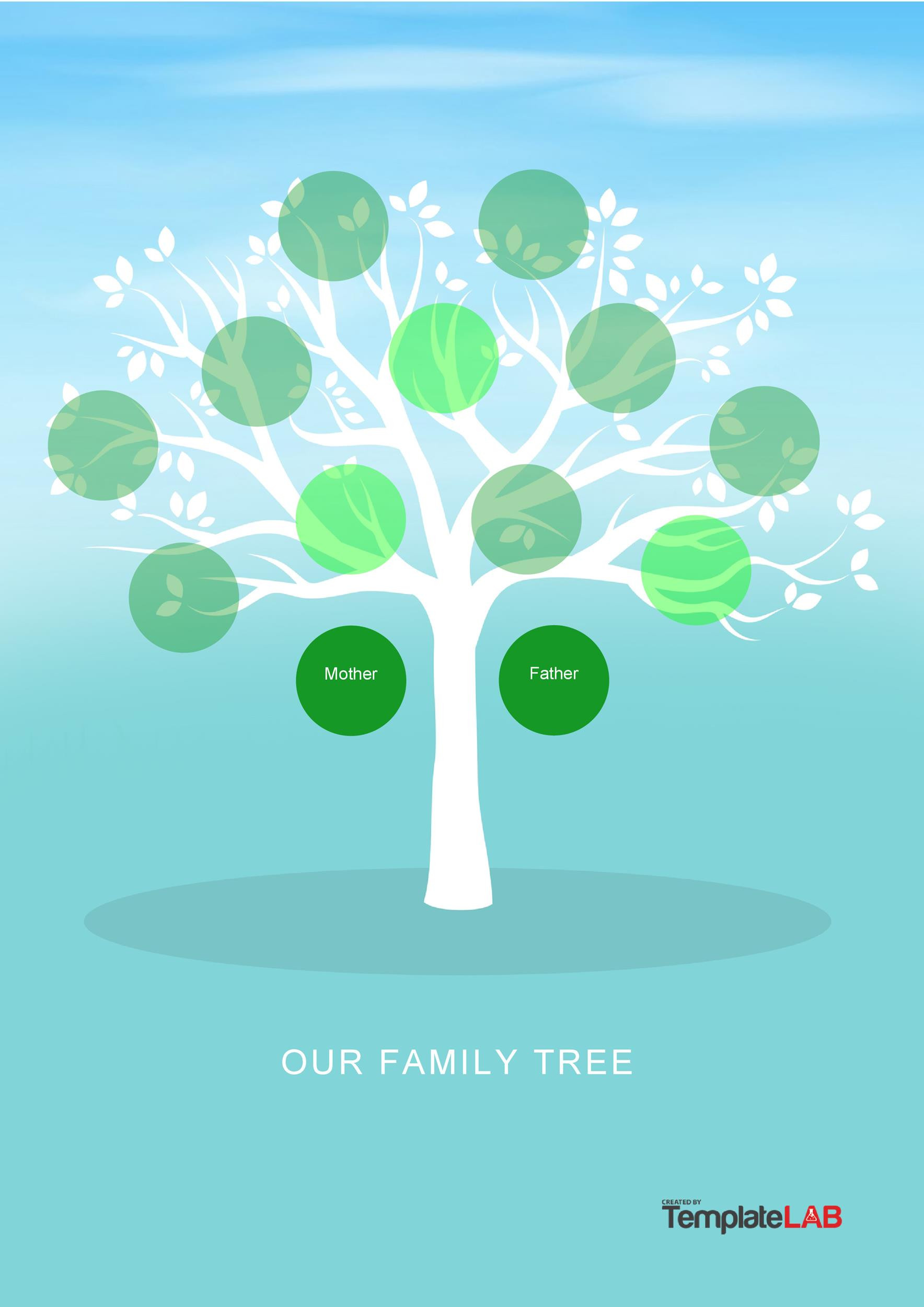 41 Free Family Tree Templates Word Excel PDF TemplateLab
