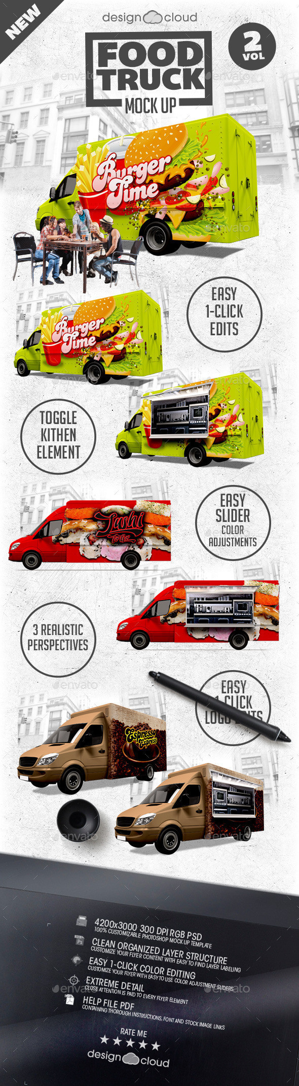 Food Truck Design Template