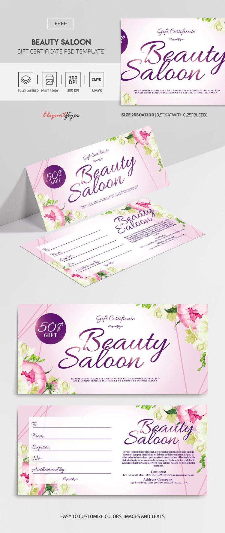 Free Gift Certificate Template