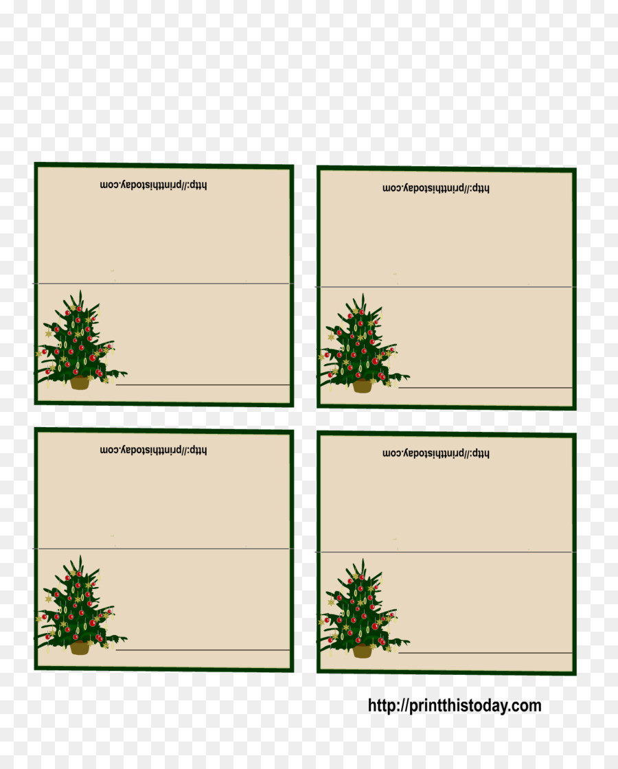 Free Place Card Template