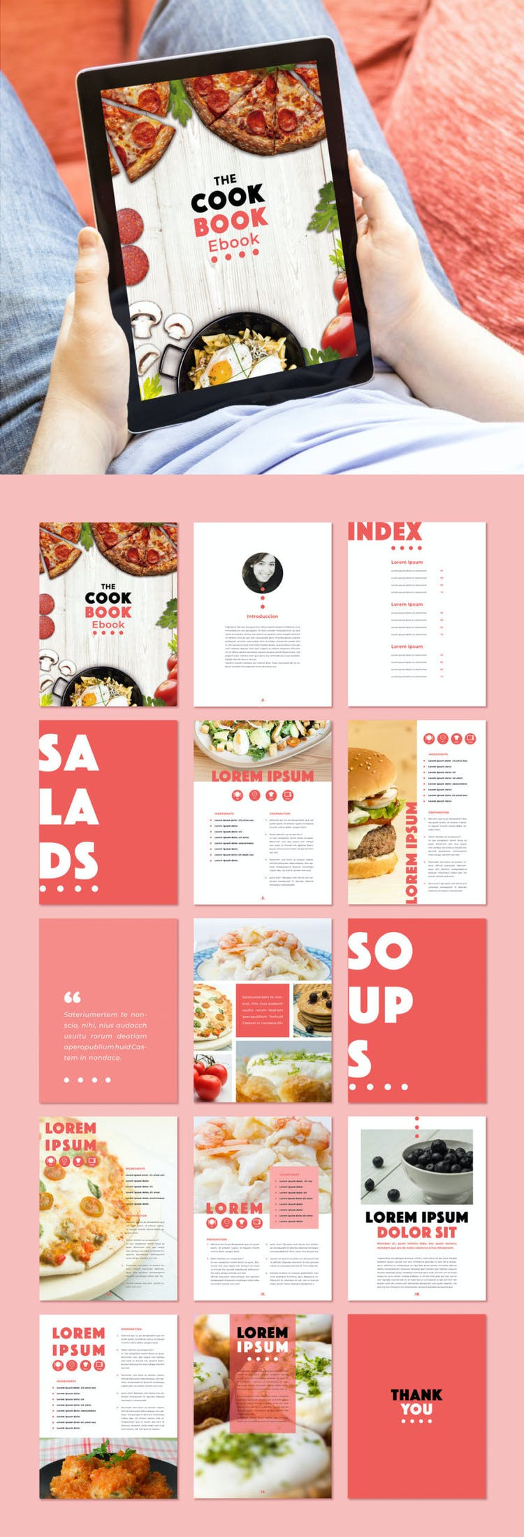 Free Recipe Book Template