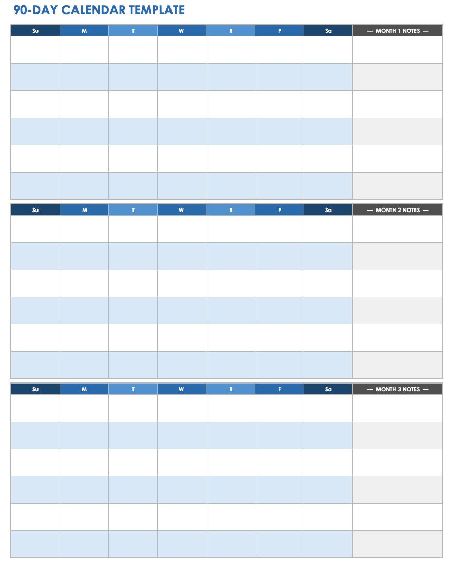 Free Work Schedule Template
