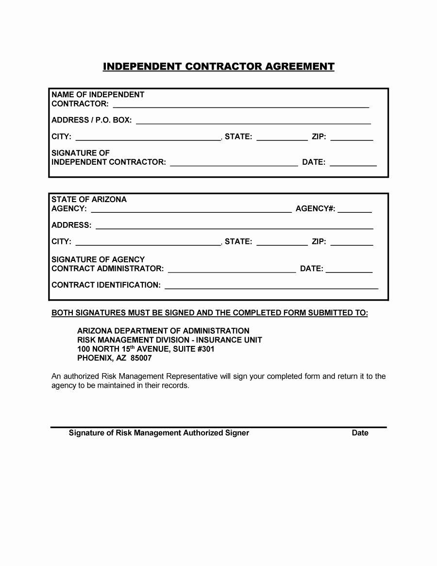 General Contractor Contract Template