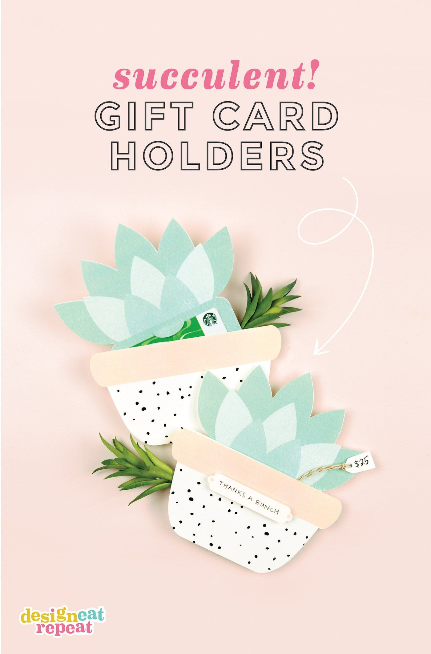 Gift Card Holder Template