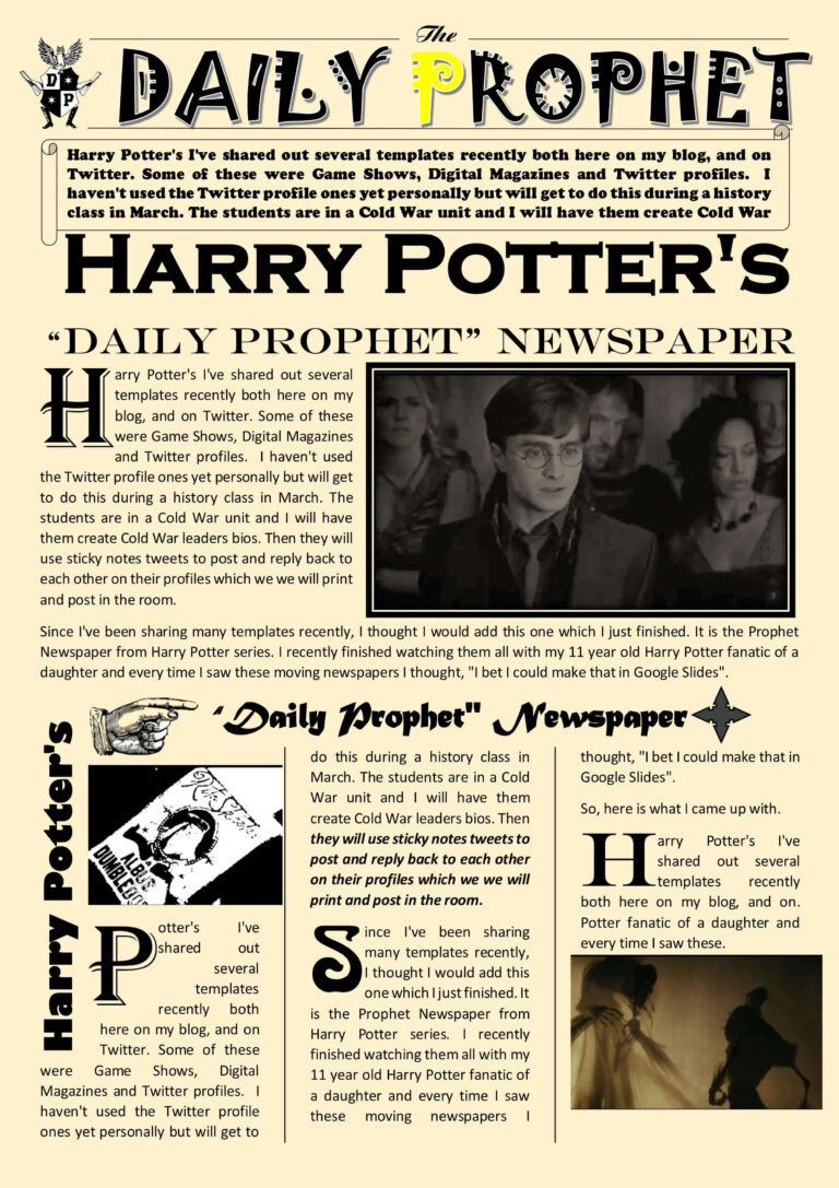 Harry Potter Powerpoint Template