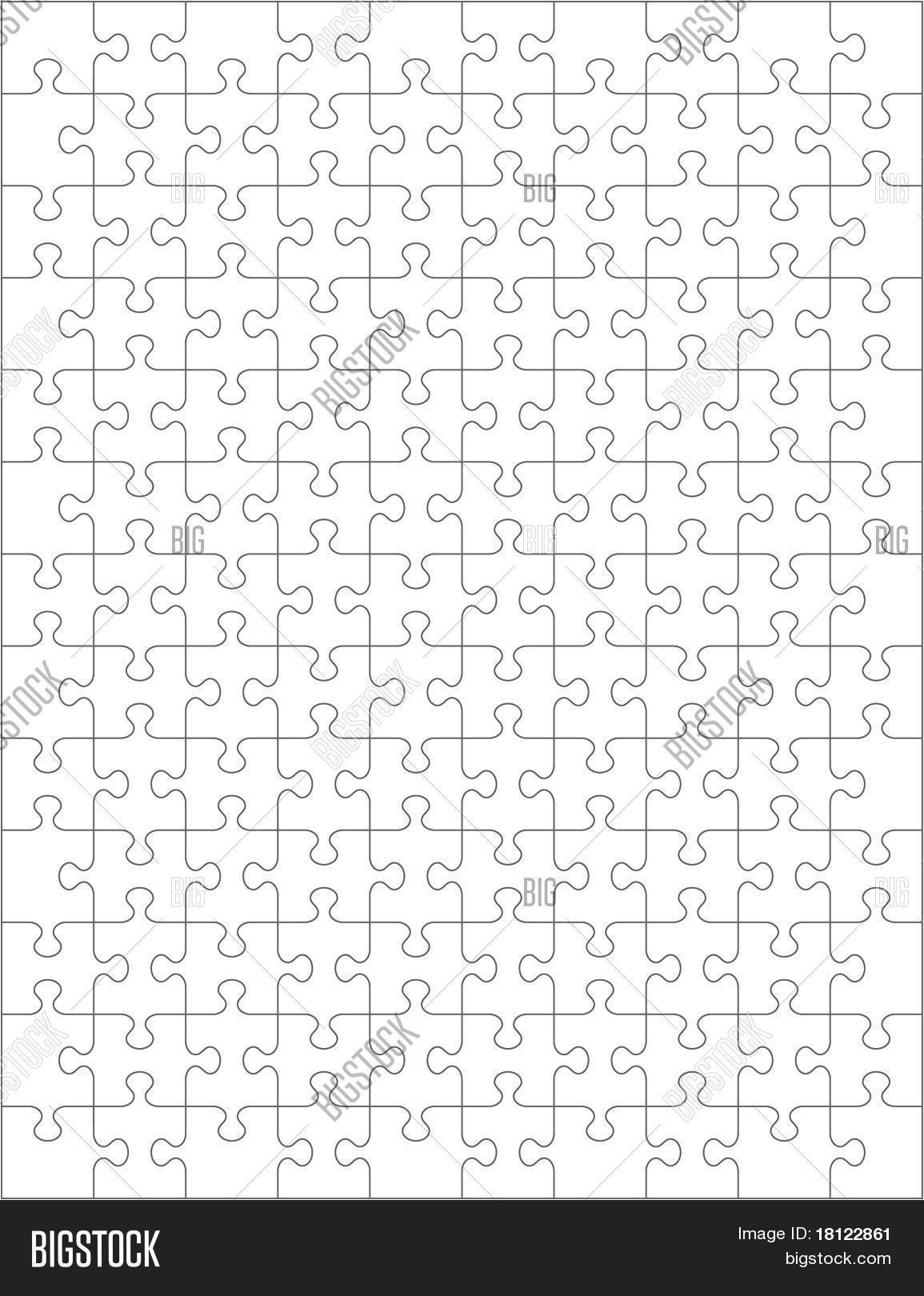 Jig Saw Puzzle Template