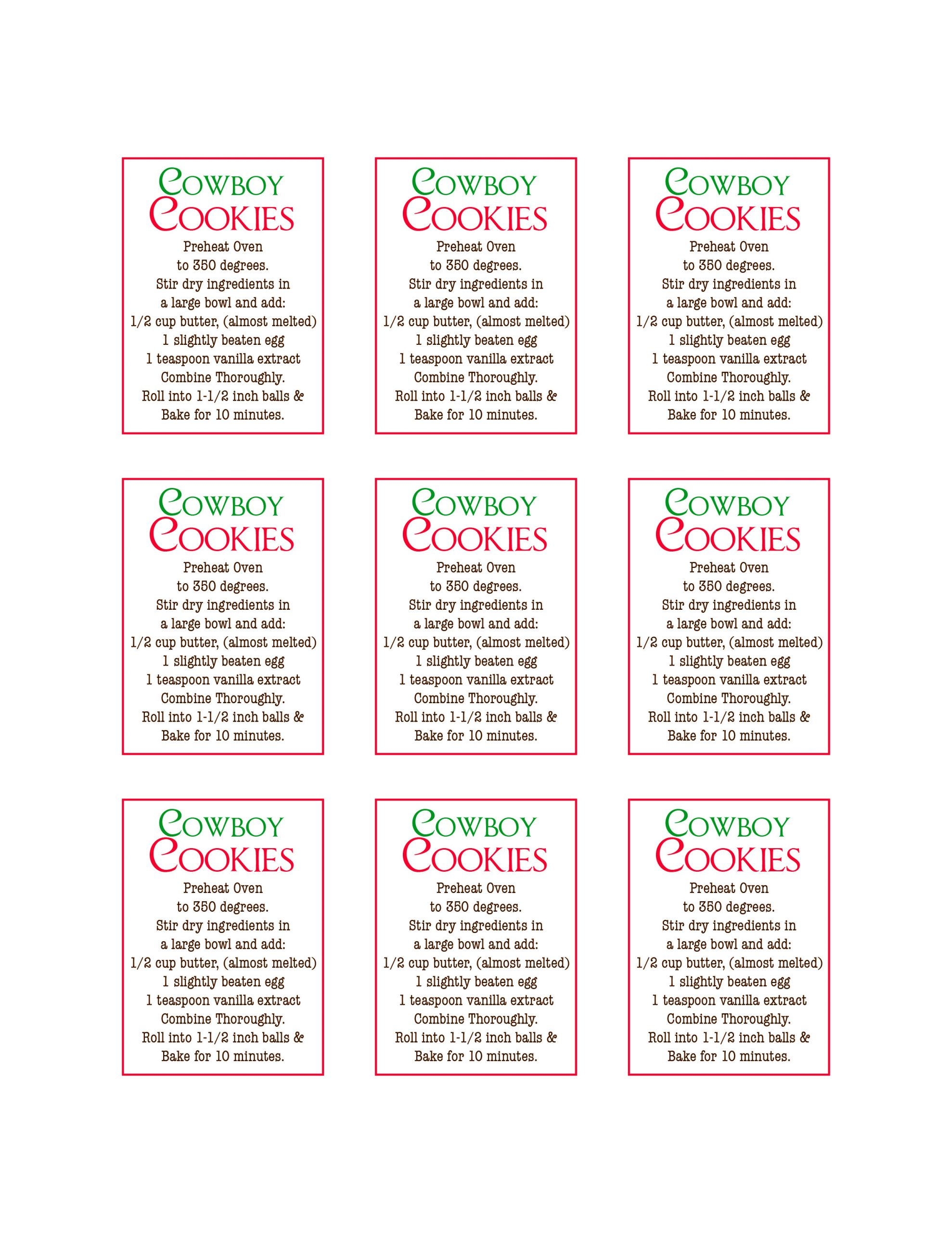 Mason Jar Labels Template