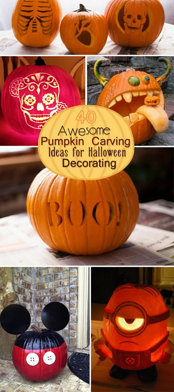 Minion Pumpkin Carving Template