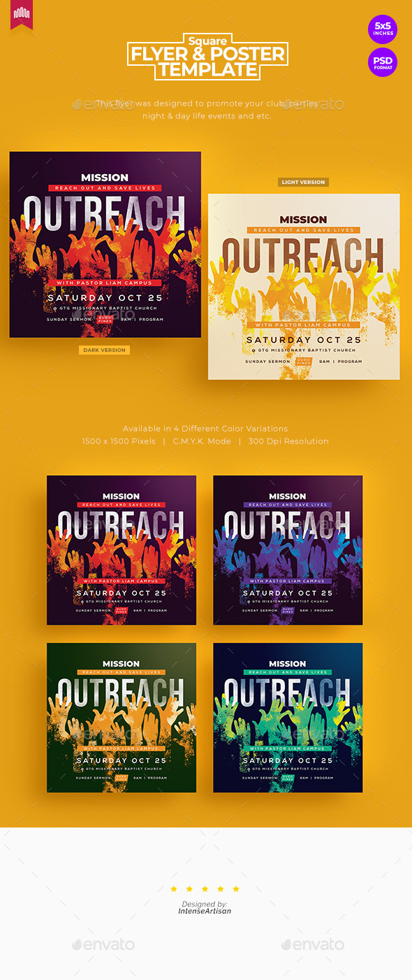 Missionary Prayer Cards Template