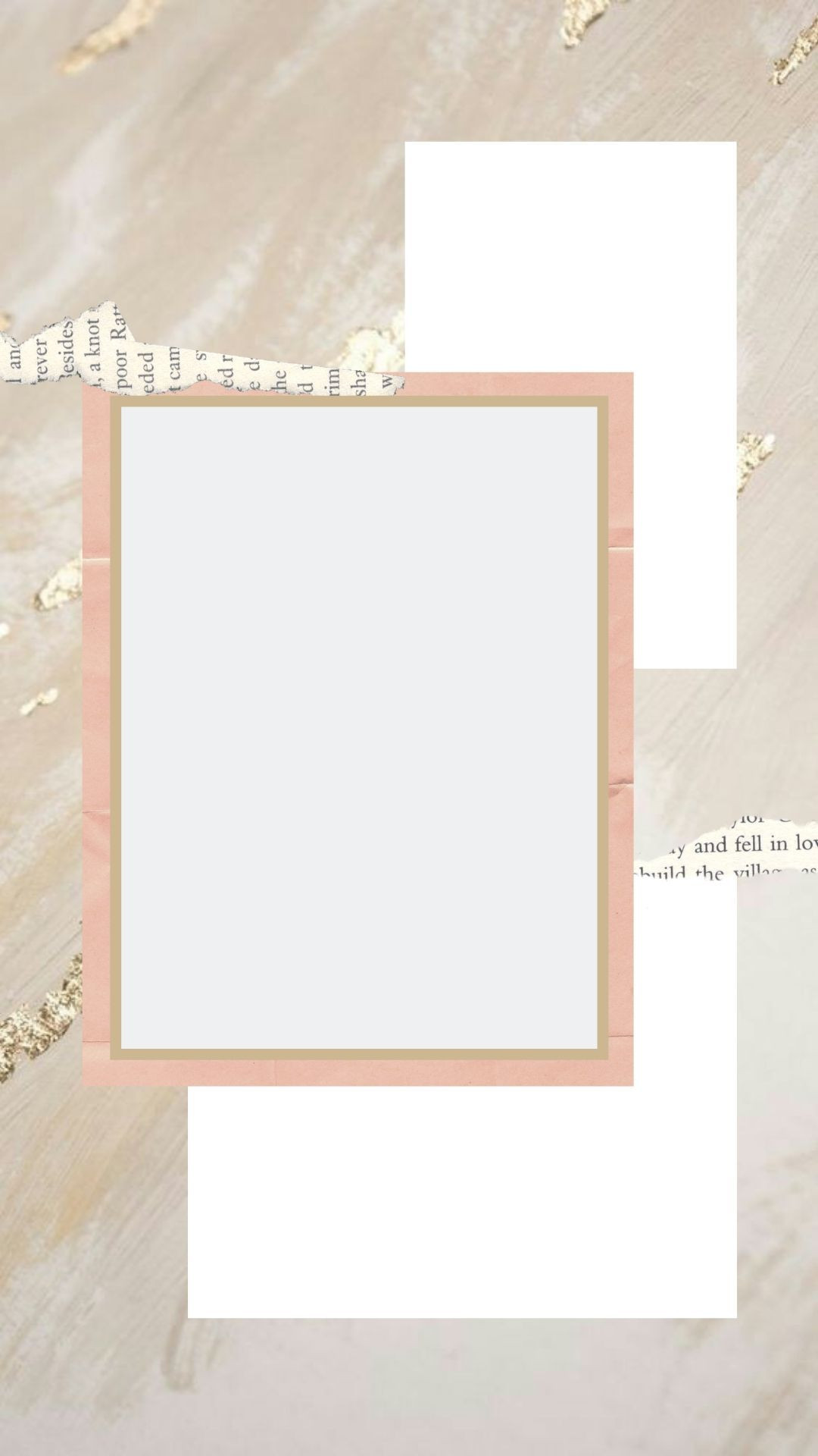Number Photo Collage Template