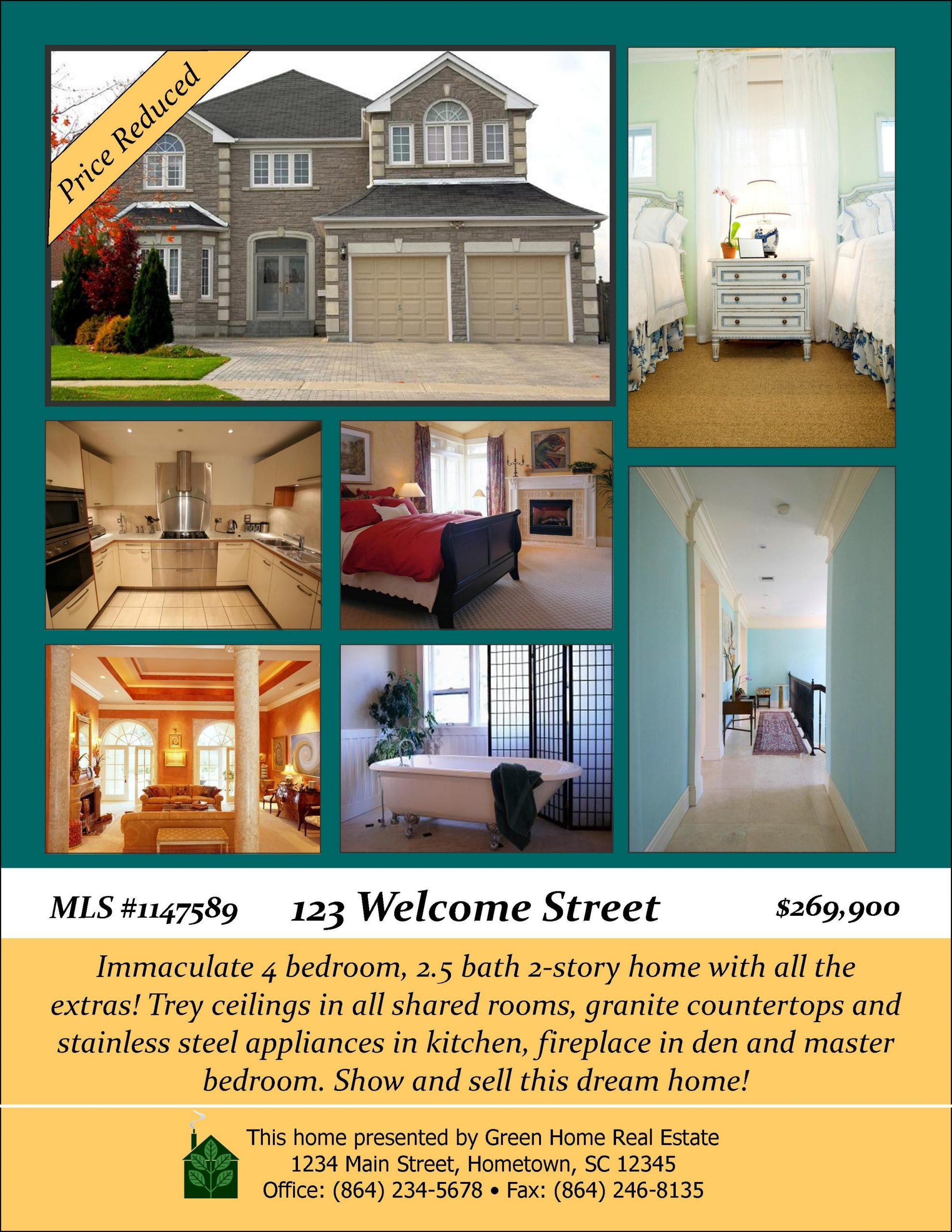 Open House Flyer Template