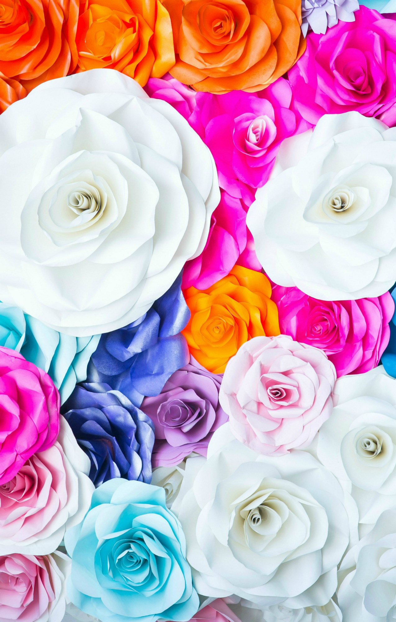 Paper Flower Template Printable