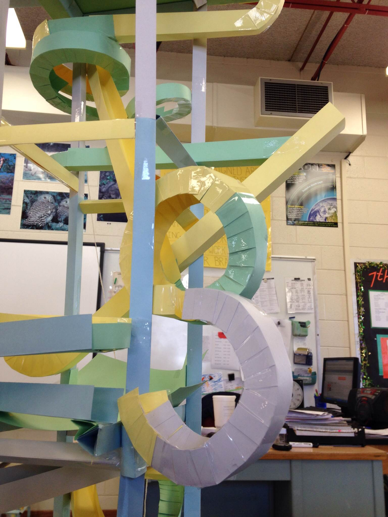 Paper Roller Coasters 7 Steps with