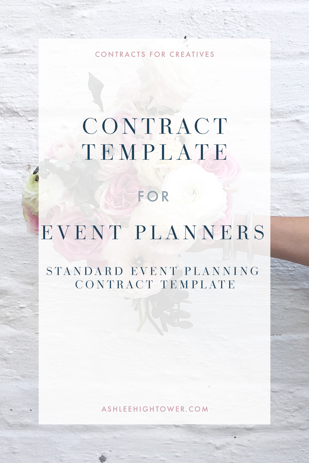 Party Planner Contract Template
