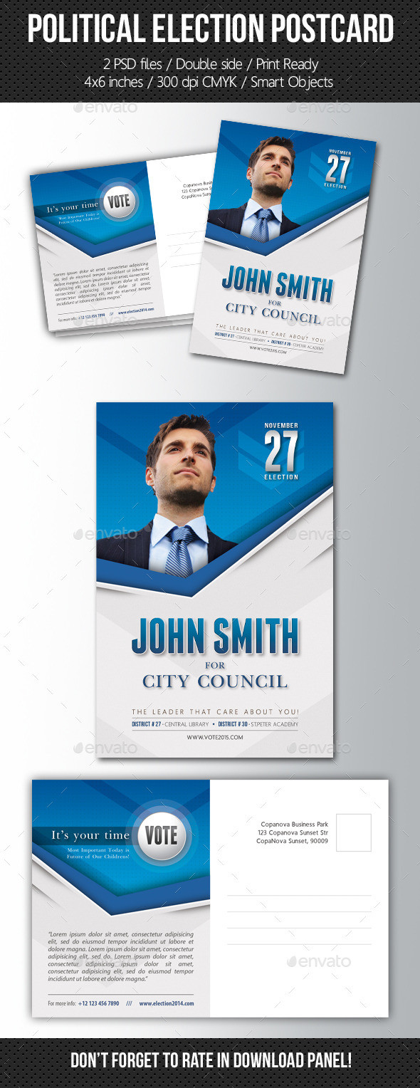 Presidential Election Graphics Designs & Templates
