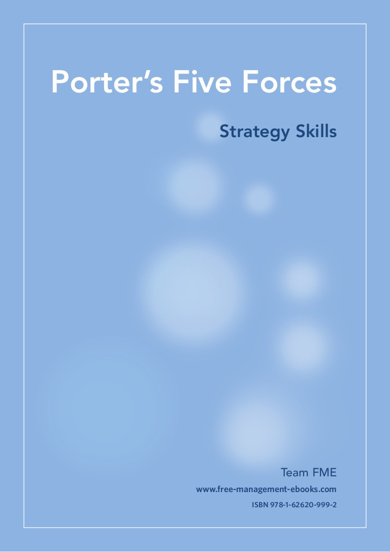 Porter Five forces Template