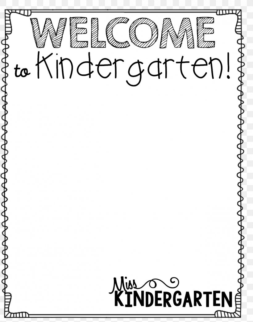 Preschool Welcome Letter Template