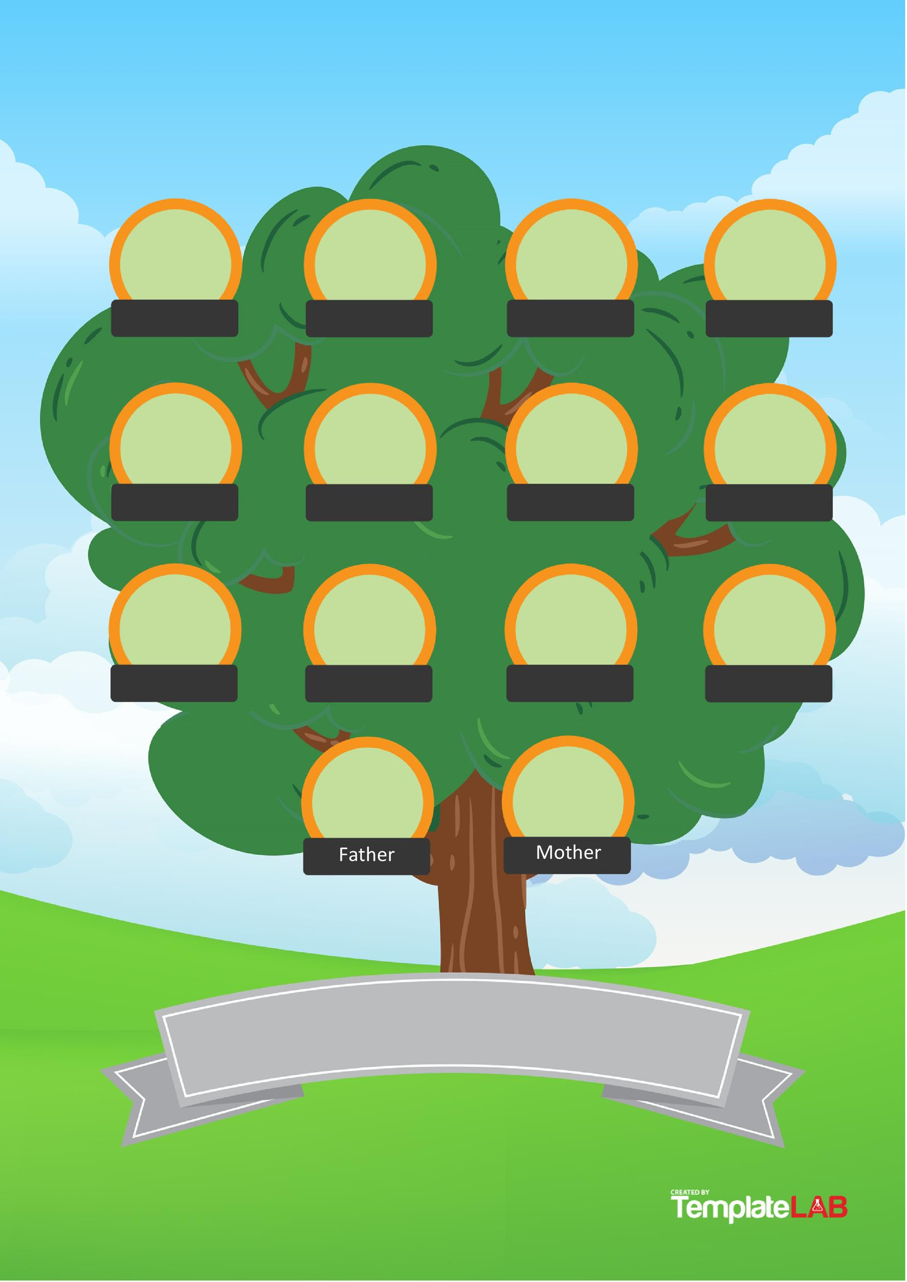 Printable Family Tree Template