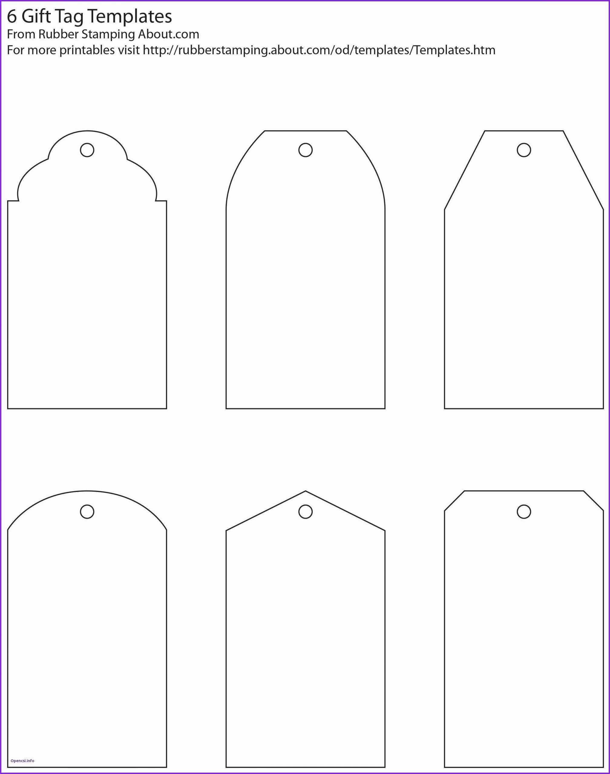Printable Place Cards Template