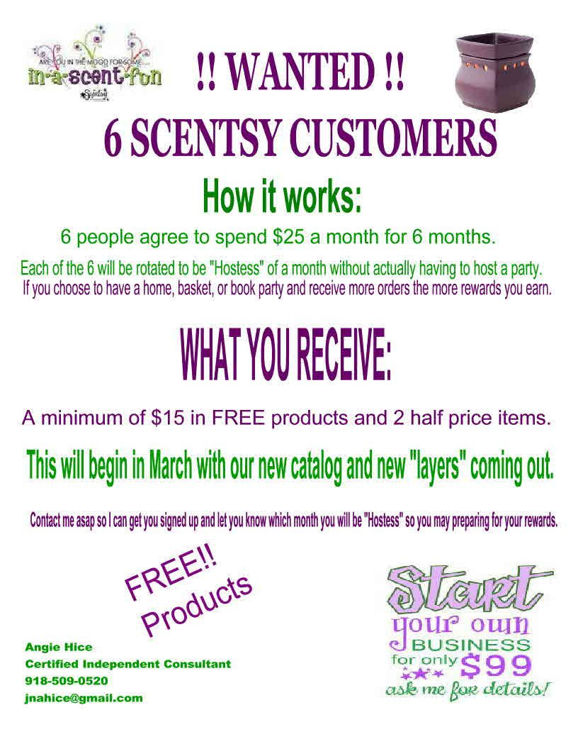 Scentsy Business Card Template