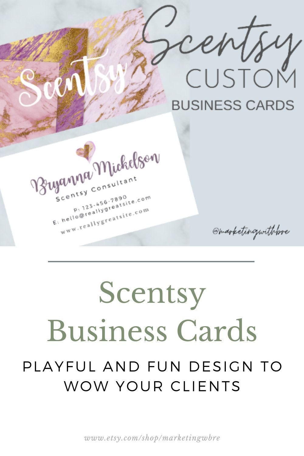 Scentsy Business Cards Printed Business Cards