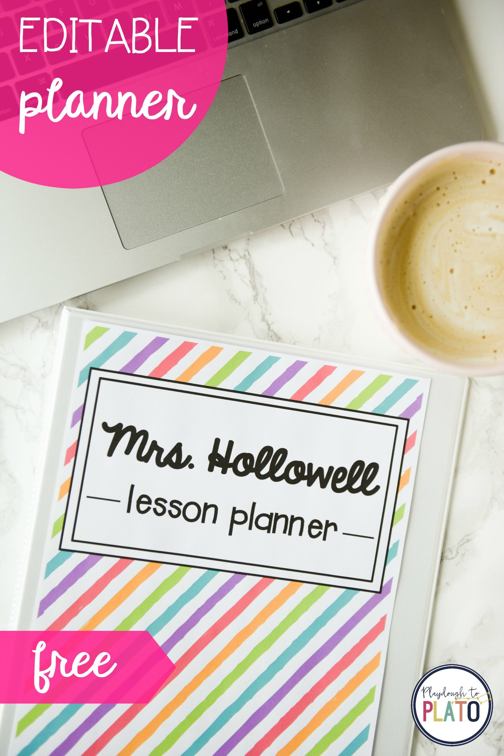 Teacher Weekly Planner Template