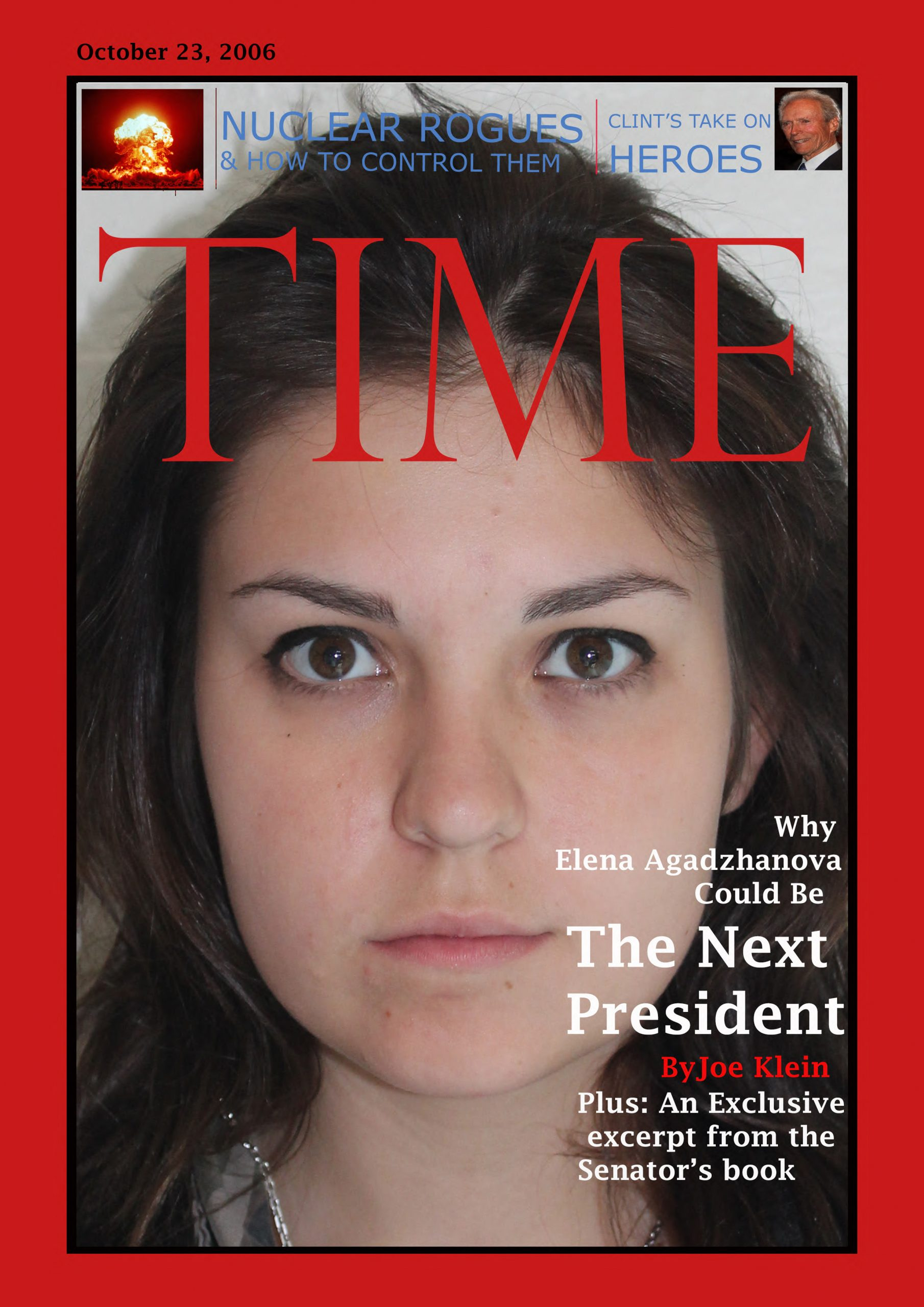 Time Magazine Cover Template