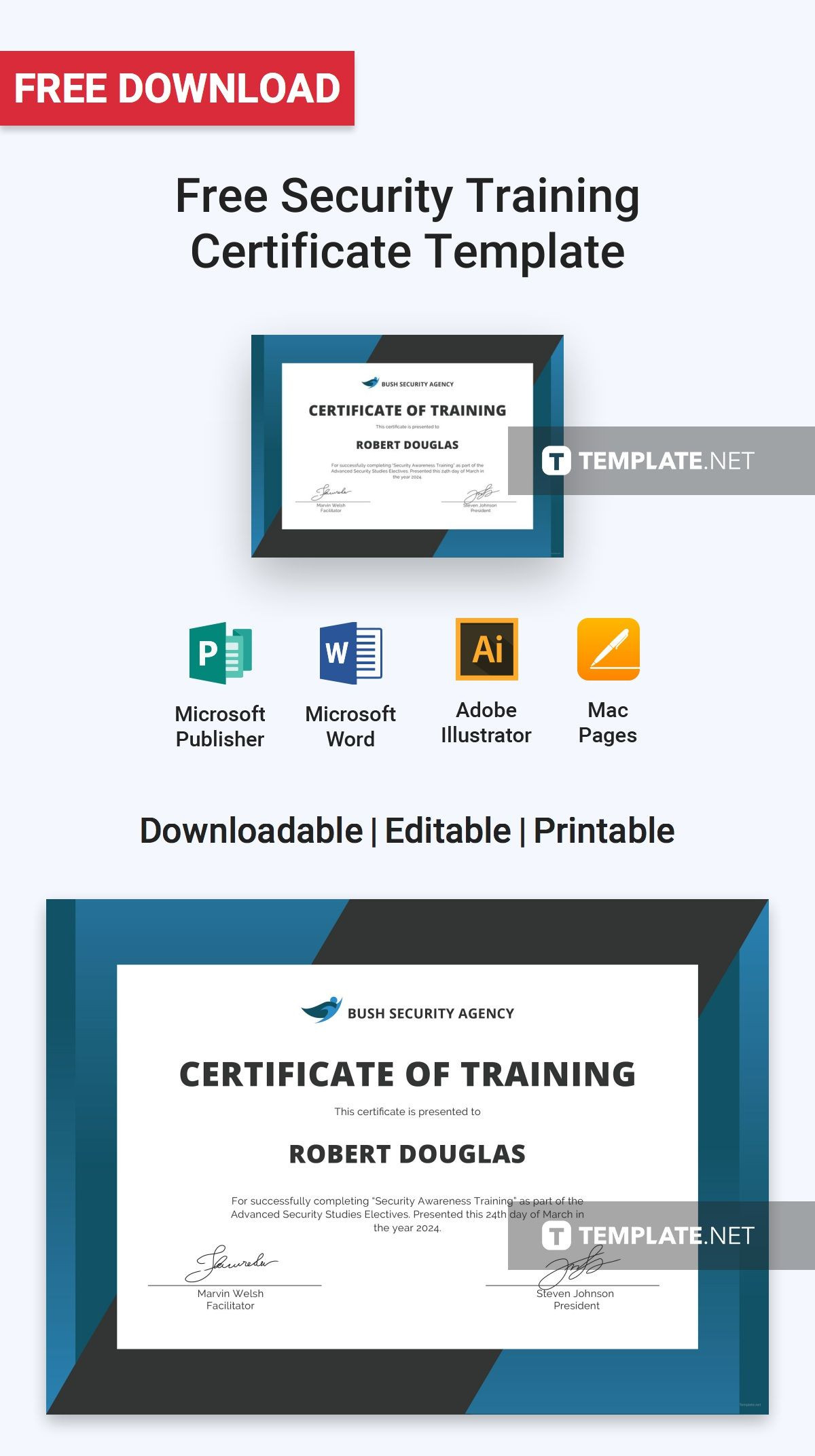 Free Security Training Certificate