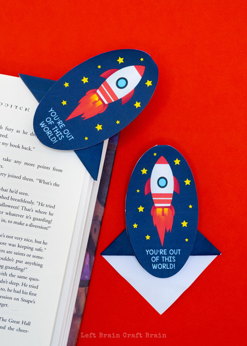 Two Sided Bookmark Template
