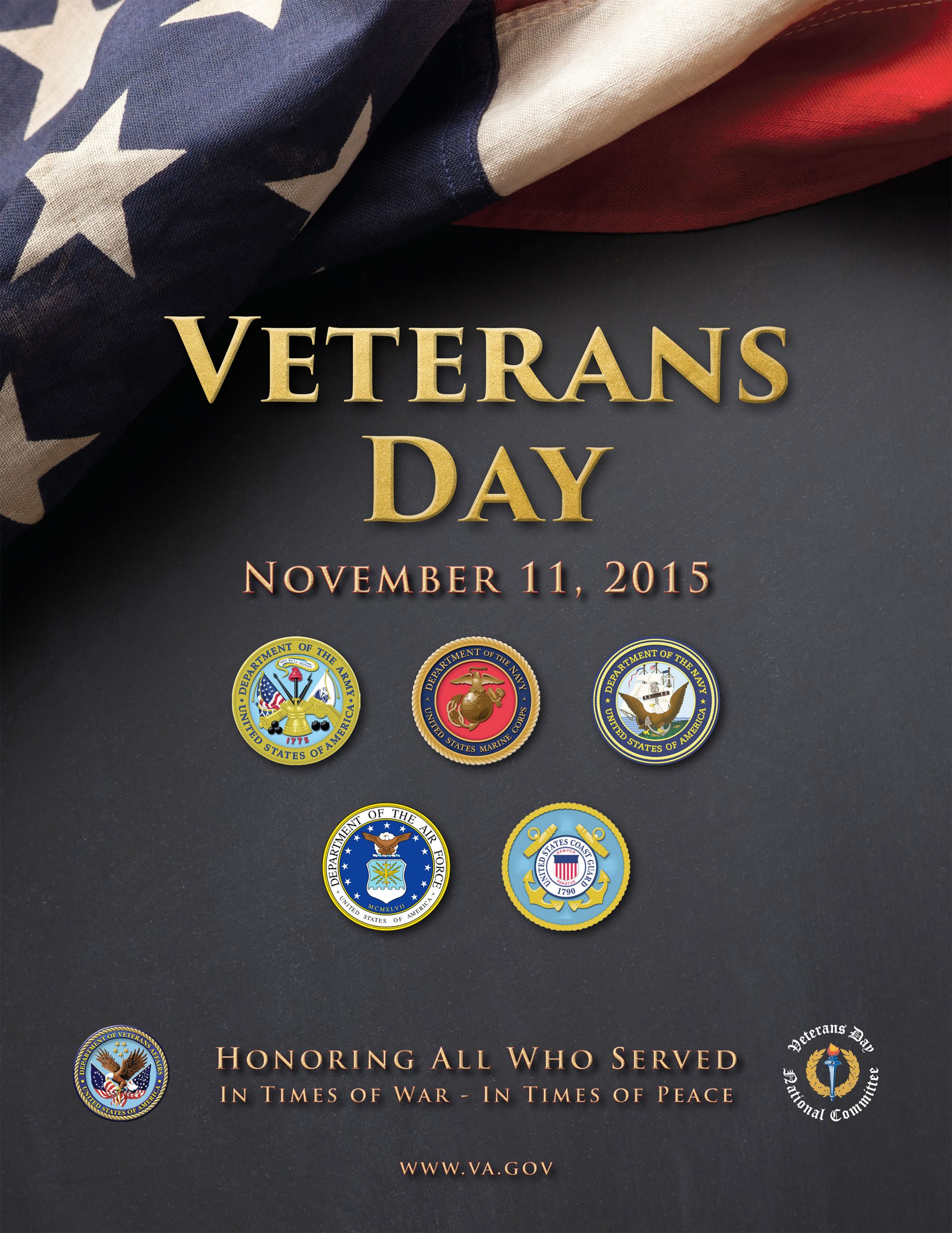 Veterans Day Program Template