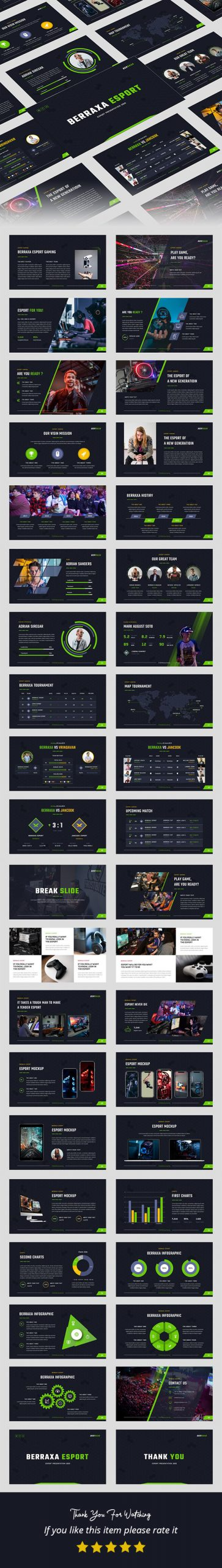 Gaming Presentation Templates from GraphicRiver