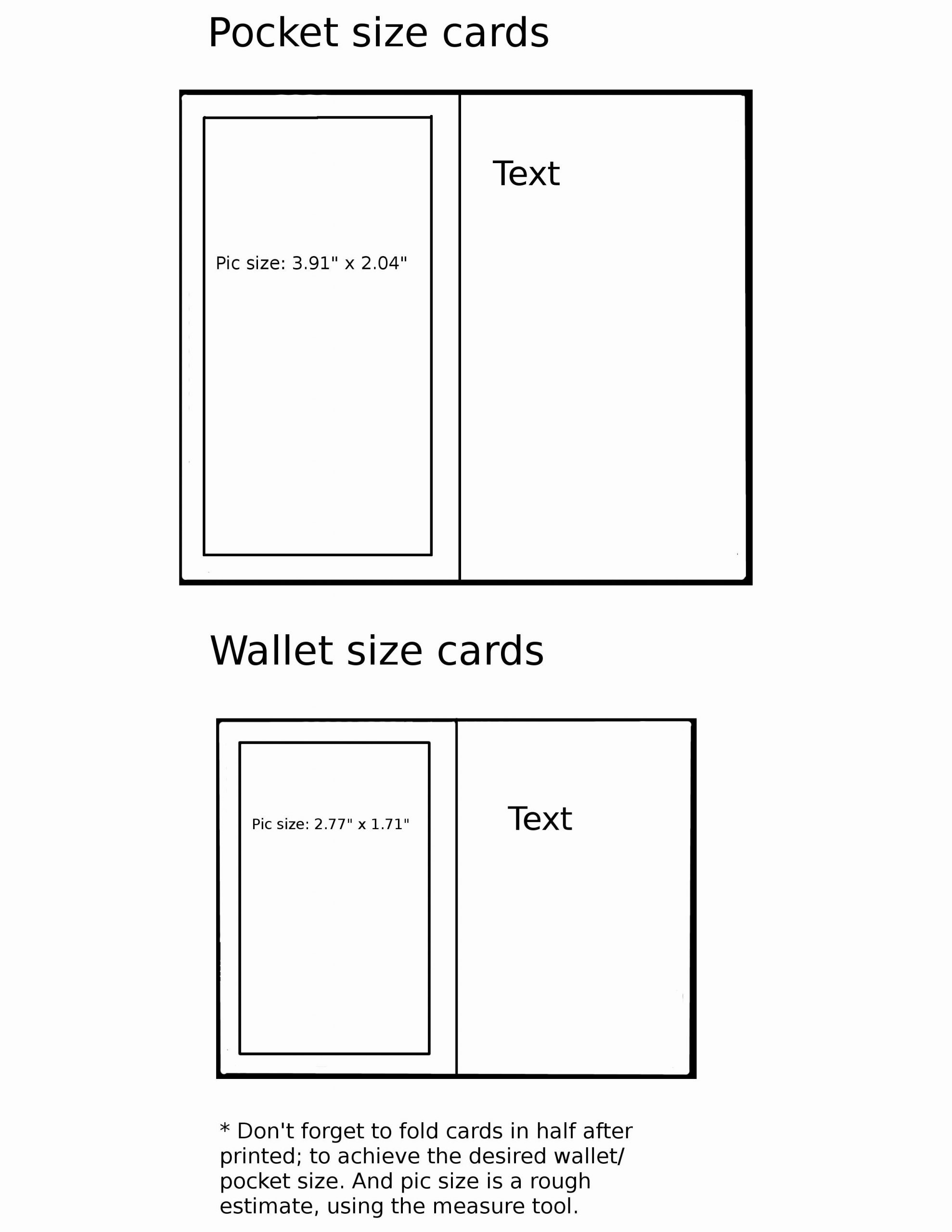 Wallet Id Card Template