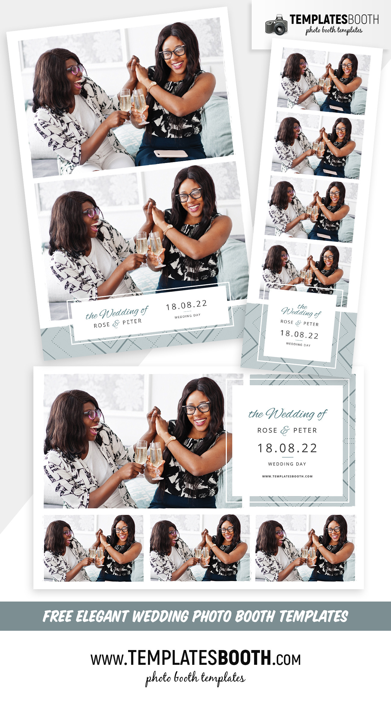 Wedding Photo Booth Template