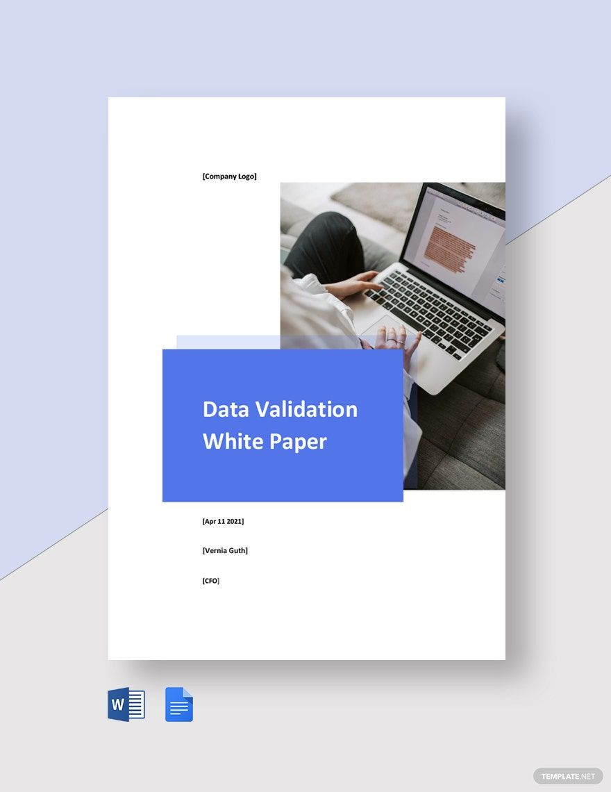 White Paper Design Template