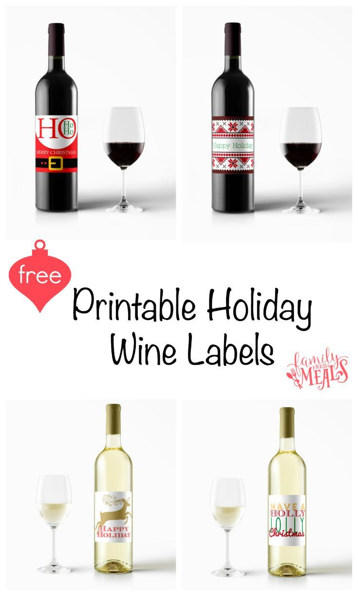 Wine Label Template Free